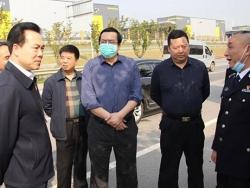 长沙监狱:钟艺兵副厅长赴长沙监狱新址实地考察