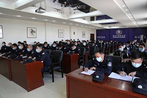 建新监狱开展了纪律作风警示教育会议