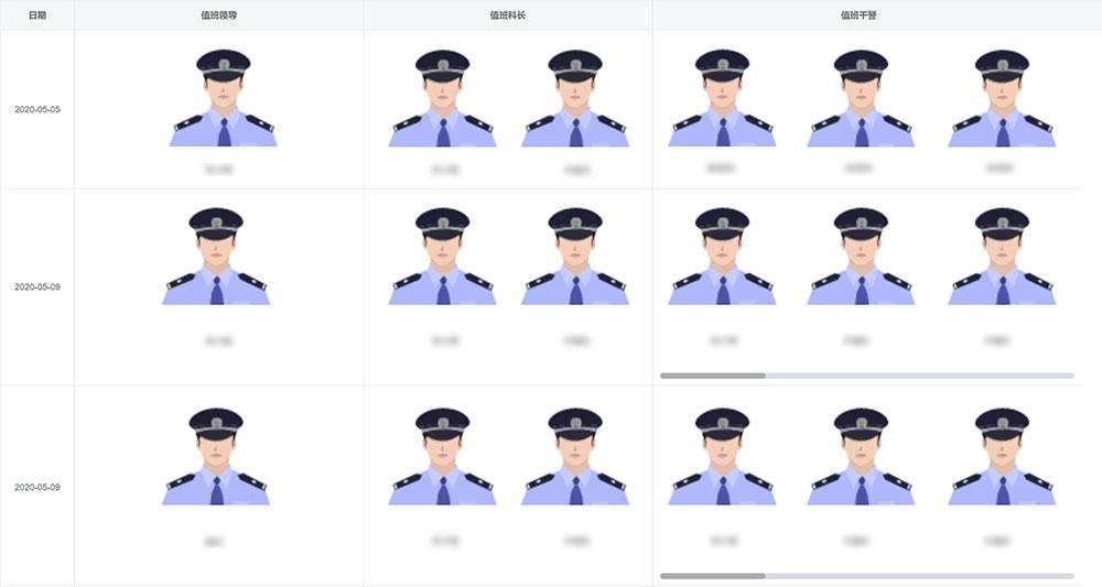 警员值班管理
